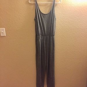 NWT H&M Gray Jumpsuit